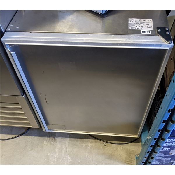 """27"""" Under the Counter Freezer by Silver King - Model no. SKTTR7F - (Approx. 28"""" x 27"""" x 32"""")"""