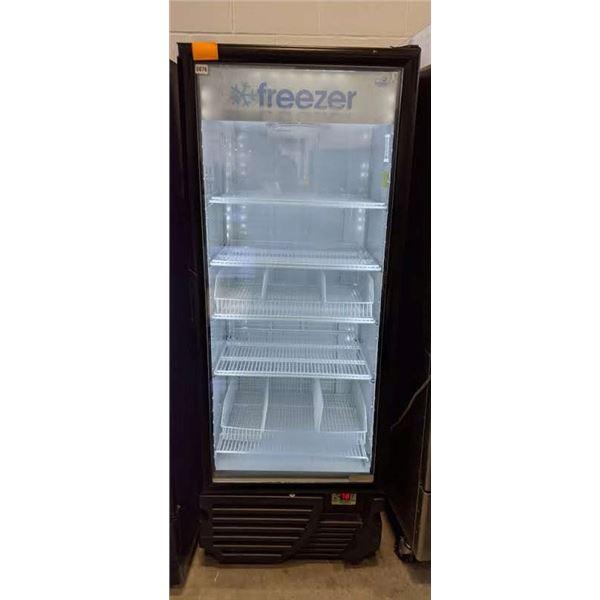 """Single Glass Door Freezer by Imbera - Model no. VFS 24 - (Approx. 30"""" x 30"""" x 78"""""""