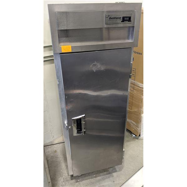 Single Solid Door Reach-in Freezer w/casters by Delfield - Model: SMF1-S