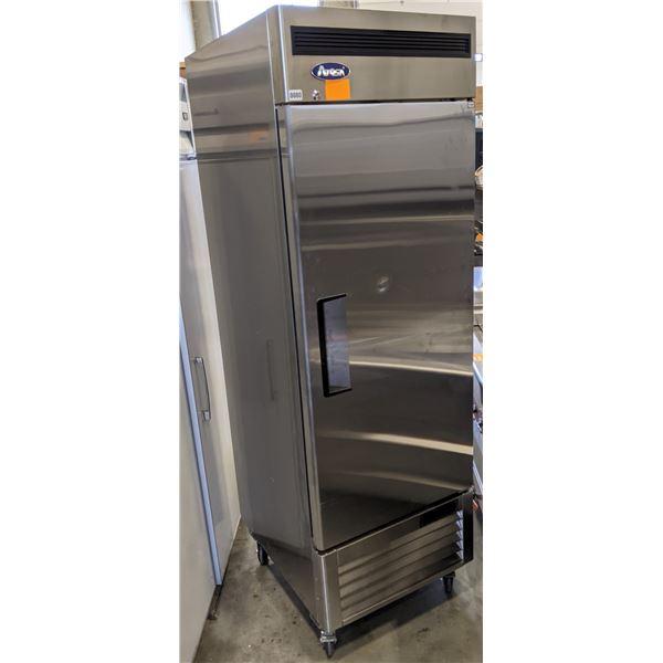 Brand New Single Solid Door Bottom Mount Reach-in Freezer by Atosa w/minor dent on the door - Model