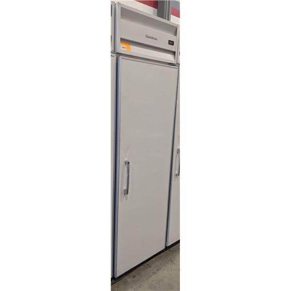 """Single Solid Door Top Mount Reach-in Refigerator by ColdStream - Model no. RSCP24AL - (Approx. 31"""" x"""