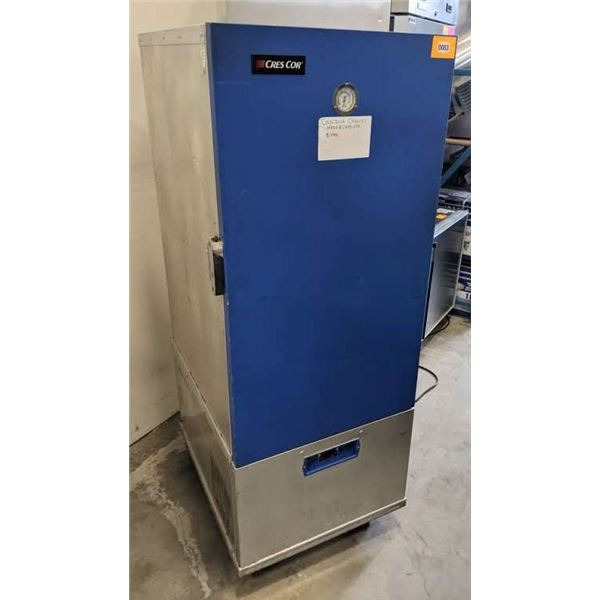 """Single Solid Door Cooling Cabinet w/casters by Cres Cor - Model no. R171UA9A - (Approx. 33"""" x 26"""" x"""