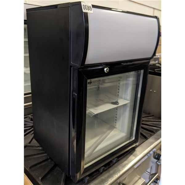 """Counter Top Glass Display Cooler by Efi food equipment - Model no. F1-20GDCT-L - (Approx. 15"""" x 16"""""""