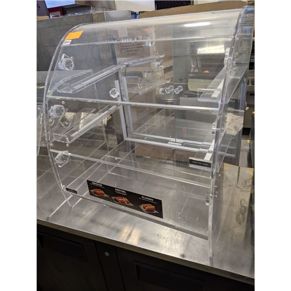 """29"""" Curved Countertop Display case for Dry products - (Approx. 24"""" x 29"""" x 32"""")"""