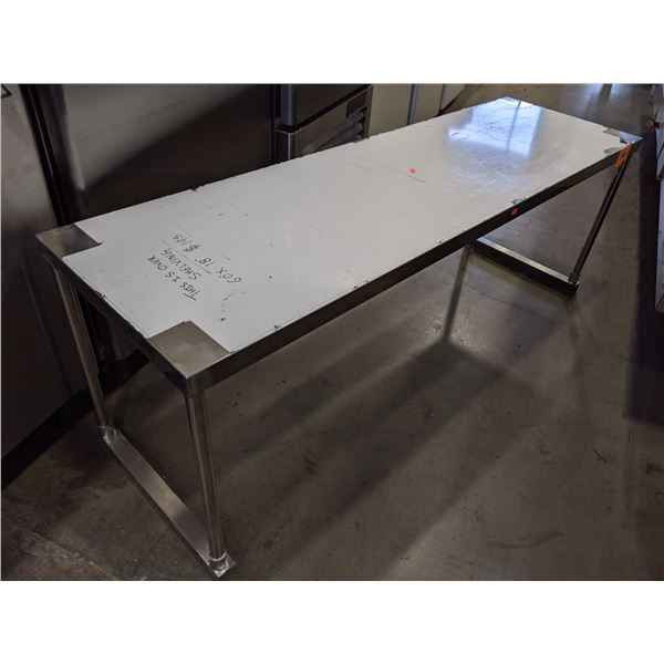 """Metal Over Shelving - (Approx. 18"""" x 60""""x 21"""")"""