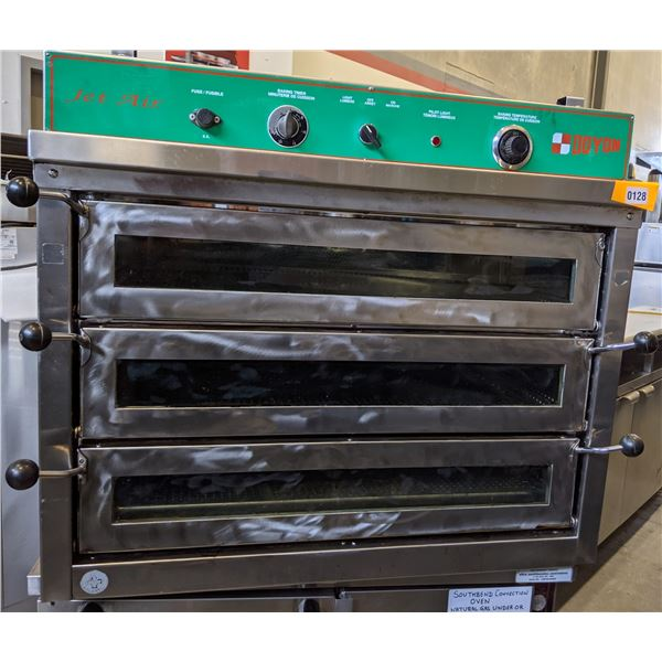 """Doyon JetAir 36"""" Pizza Deck Oven - (Approx. 36"""" x 36"""" x 30"""")"""