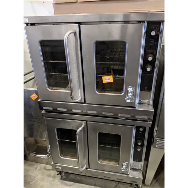 """Double Convection Oven w/casters - (Approx. 43"""" x 38"""" x 69"""")"""