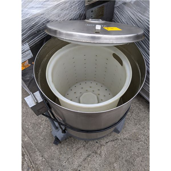 Electric Stainless Steel Salad dryer w/casters by Hobart - Model: SDPS
