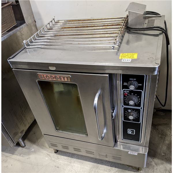 """Natural Gas Convection Oven by Blodgett (Missing Racks) - (Approx. 36"""" x 40"""" x 72"""")"""