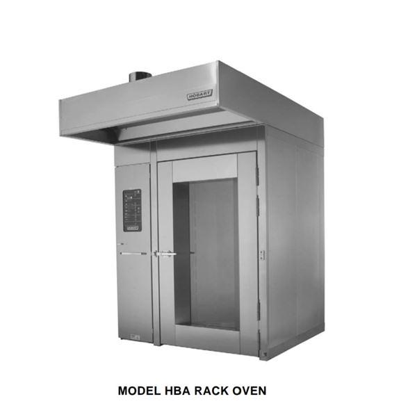 Rack (Walk-in) Bakery Oven by HOBART w/rack - Model: HBA2G -  Retails over $60,000