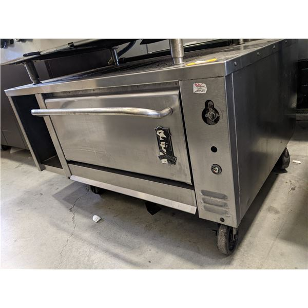 """Oven by Montague w/casters - (Approx. 38"""" x 48"""" x 25"""")"""
