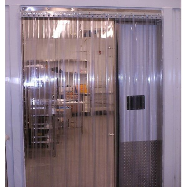 "Walk-in cooler curtain - 38"" W"