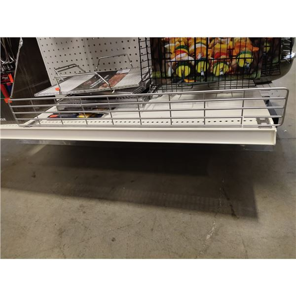 New grocery shelving