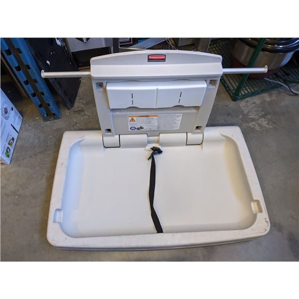 """Horizontal Baby Changing Station by RubberMaid (Barely Used) - (Approx. 20""""D x 33""""W)"""