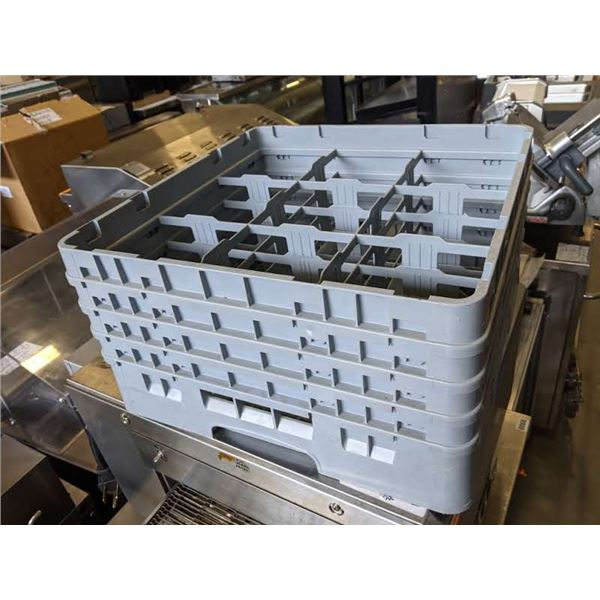 "6 Gray Dish Washing Racks - (Approx. 19.5"" x 19.5"" x 10.5"")"