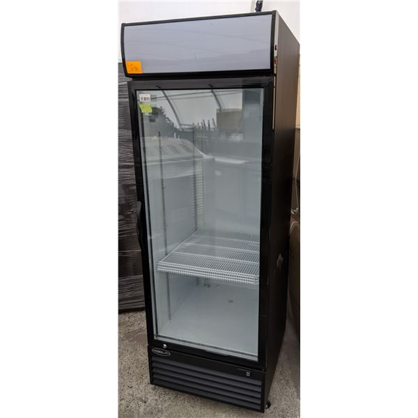 "NEW Single Glass Door Display Upright Cooler w/casters by KOOL-IT - Model: KGM-23 - (Approx. 27""W x"