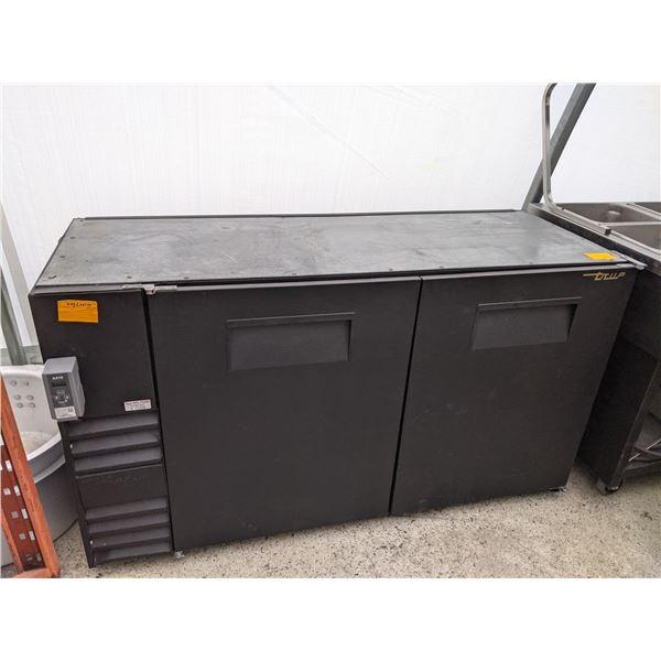 2 Door Back Bar Cooler (keg Cooler) by True