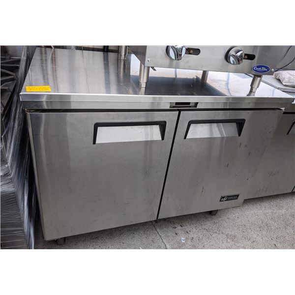 2 Door Sandwich Prep Refrigerator by EFI - Model: CSDR2-48VC - Retails over $2200 - (Refriger