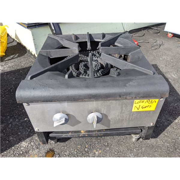 Countertop Natural Gas Stock Pot Burner/Stove