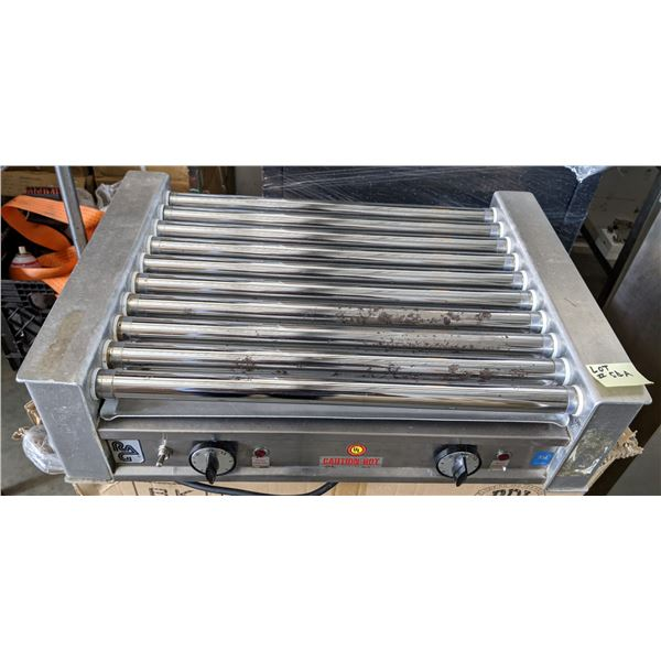 Commercial Hot Dog Machine - 11 Rollers - Test Working Condition