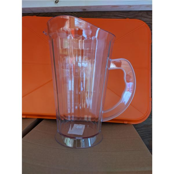 Group of 12 Brand New Pitcher jugs (Plastic)