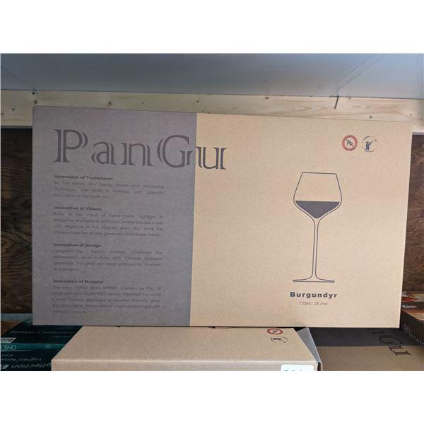 Group of 16 Brand New PanGu Handmade Wine Glasses - 720ml/25.5 oz