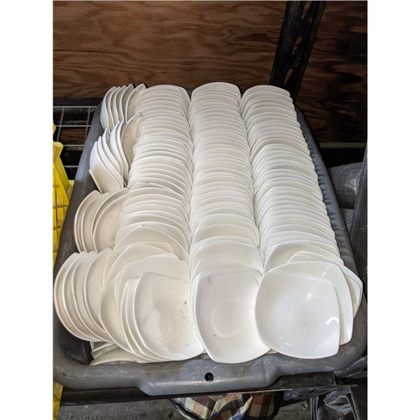 A box lot of Sauce Plates