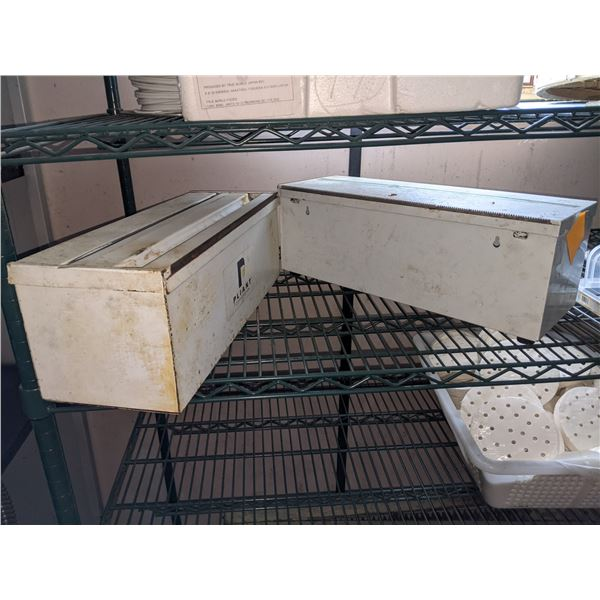 2 Metal Wrapping Boxes