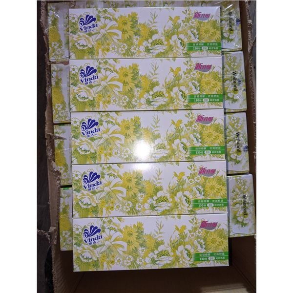 Box of 50 Tissue boxes