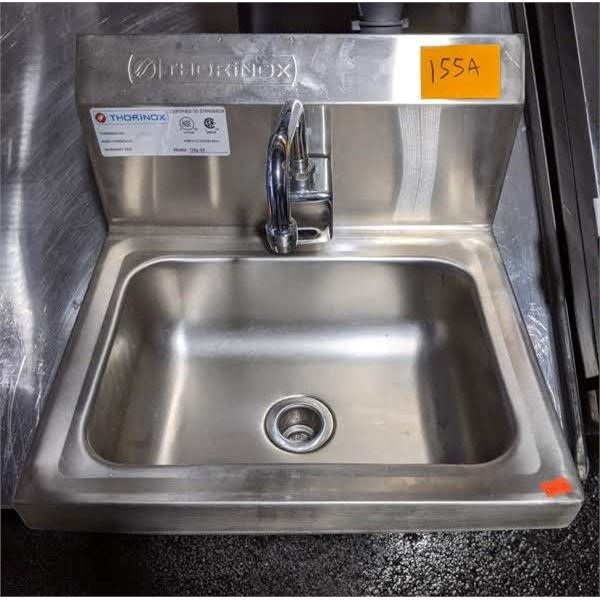 Small Wall mount Sink w/touchless faucet by Thorinox