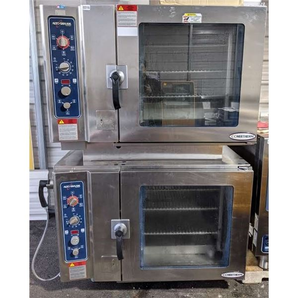 Commercial Natural Gas Double Stack Convection/Combi Oven by Alto Shaam - Model: 7-14ESG S