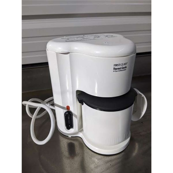 NEW First Class Thermal Carafe 4 Cup Coffee Machine