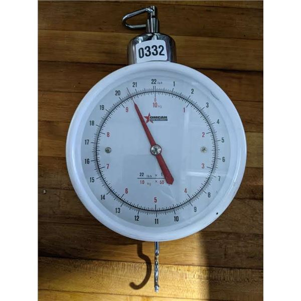 Dial Hanging Scale by Omcan