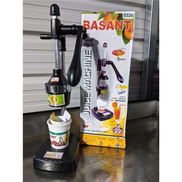 Hand Press Juice Machine by Basant