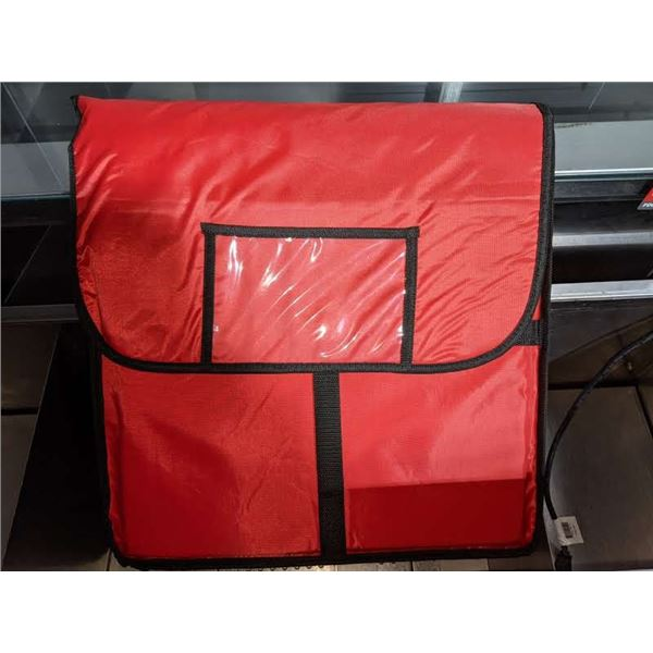 Red Pizza Delivery bag