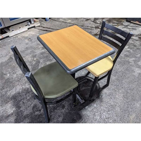 Small table w/two chairs