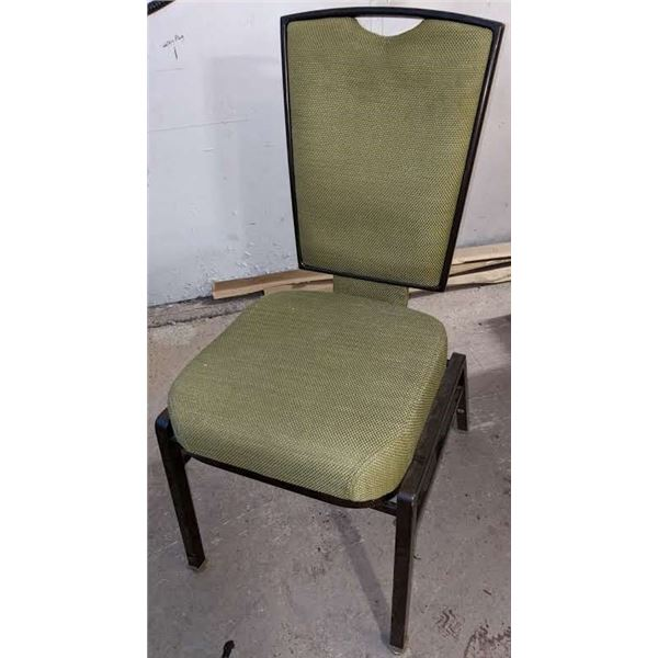 Set of 15 (Green) Catering Chairs