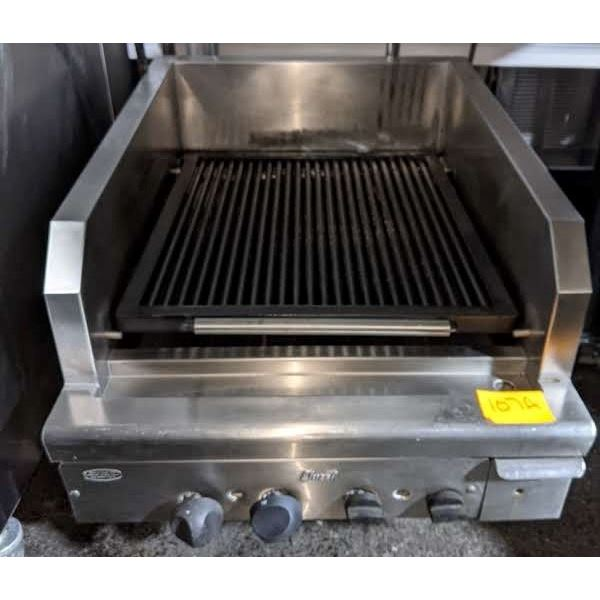 Char broiler w/casters by Quest