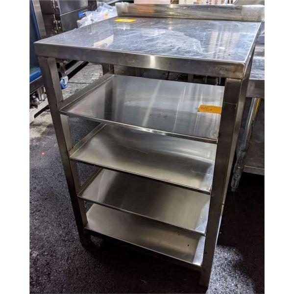 Stainless stee microwave shelf