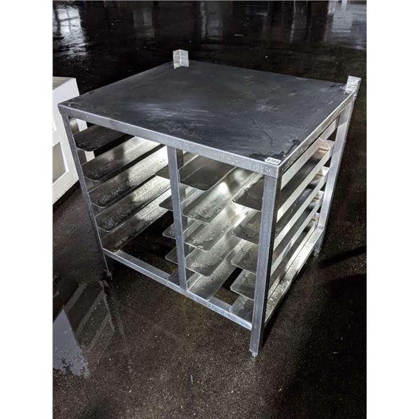 Stainless steel rack shelving