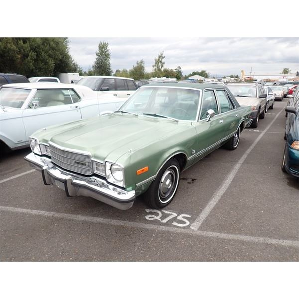 1977 Plymouth Volare'