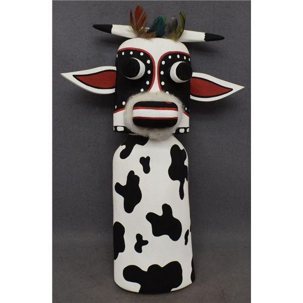 HOPI INDIAN COW KACHINA