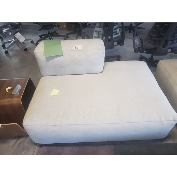 """HAY MAGS SOFT LOW BEIGE 54"""" CHAISE LOUNGE CHAIR"""