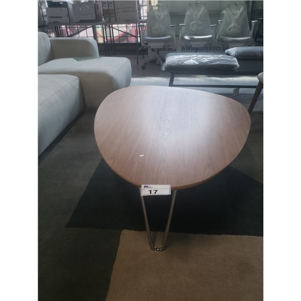 HERMAN MILLER BOGUCHI WALNUT RUDDER TABLE  RETAIL PRICE $2118 CAN.