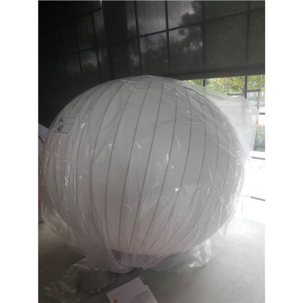 HERMAN MILLER NELSON SAUCER BUBBLE LAMP  RETAIL PRICE $618 CAN.