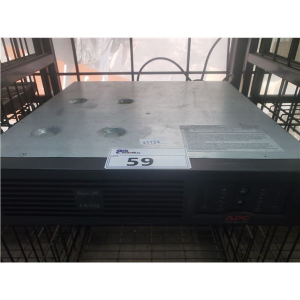 APC 1500 SMART-UPS BATTERY BACK UP
