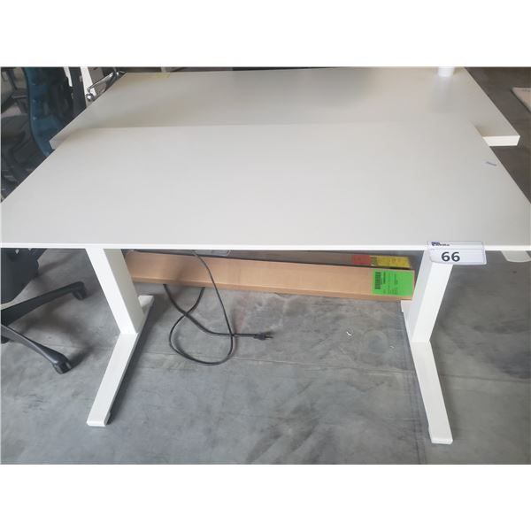 """HERMAN MILLER NEVI SIT/STAND 48"""" X 24"""" ELECTRIC COMPUTER TABLE"""