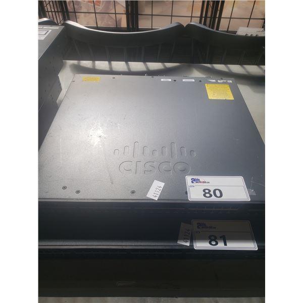 CISCO CATALYST 3650 48 POET 4X1GB NETWORK SWITCH