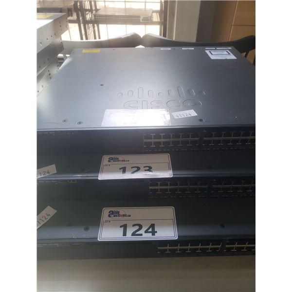 CISCO CATALYST 3650 48 POET 2X10GB NETWORK SWITCH