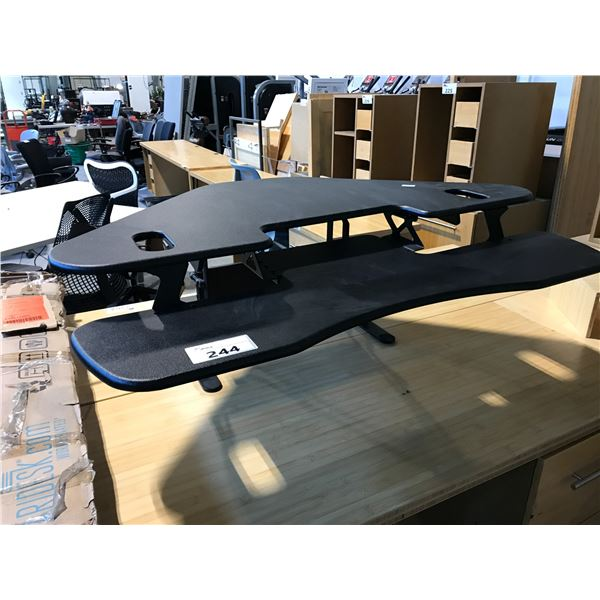 VARIDESK CUBE CORNER 48 SIT/STAND ARTICULATING MONITOR STAND